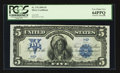 Large Size:Silver Certificates, Low Serial Number H4 Carmi A. Thompson Courtesy Autograph Fr. 276$5 1899 Silver Certificate PCGS Very Choice New 64PPQ.. ...