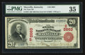 National Bank Notes:Kentucky, Maysville, KY - $20 1902 Red Seal Fr. 639 The State NB Ch. #(S)2663. ...