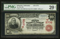 National Bank Notes:Nebraska, Schuyler, NE - $10 1902 Red Seal Fr. 613 The First NB Ch. # (W)2778. ...