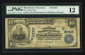 National Bank Notes:Tennessee, Winchester, TN - $10 1902 Plain Back Fr. 626 The Farmers NB Ch. #(S)8640. ...