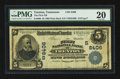 National Bank Notes:Tennessee, Trenton, TN - $5 1902 Plain Back Fr. 600 The First NB Ch. #(S)8406. ...