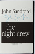 Books:Mystery & Detective Fiction, John Sandford. SIGNED. The Night Crew. Putnam, 1997. Firstedition, first printing. Signed by the author. Mi...