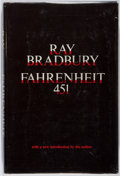 Books:Science Fiction & Fantasy, Ray Bradbury. INSCRIBED. Fahrenheit 451. Simon and Schuster, 1967. Book club edition. Signed and inscribed by ...