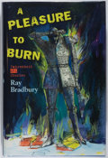 Books:Science Fiction & Fantasy, Ray Bradbury. SIGNED. A Pleasure to Burn: Fahrenheit 451 Stories. Subterranean, 2010. First edition, first print...