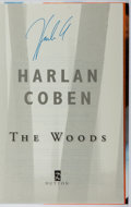 Books:Mystery & Detective Fiction, Harlan Coben. SIGNED. The Woods. Dutton, 2007. Firstedition, first printing. Signed by the author. Mild bumping...