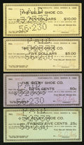 Obsoletes By State:Ohio, Portsmouth, OH- Selby Shoe Co. Mar. 8, 1933.. ... (Total: 4 notes)