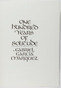 Books:Fine Press & Book Arts, [Limited Editions Club]. SIGNED LIMITED EDITION. Gabriel GarciaMárquez. One Hundred Years of Solitude. LEC, [1982]....