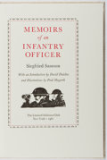 Books:Fine Press & Book Arts, [Limited Editions Club]. SIGNED LIMITED EDITION. Siegfried Sassoon.Memoirs of an Infantry Officer. LEC, 1981. In sl...