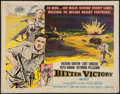 "Movie Posters:War, Bitter Victory & Others Lot (Columbia, 1958). Half Sheets (3)22"" X 28""). Styles A, B, & Regular. War.. ... (Total: 3 Items)"