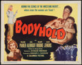 "Movie Posters:Sports, Bodyhold (Columbia, 1949). Half Sheet (22"" X 28""). Sports.. ..."