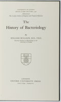 Books:Science & Technology, William Bulloch. The History of Bacteriology. Oxford, 1960. Later edition. Library bookplate. Mild rubbing. Near fin...