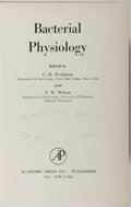 Books:Medicine, C. H. Werkman, et al. Bacterial Physiology. Academic Press,1951. First edition, first printing. Minor rubbing and t...