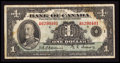 Canadian Currency: , BC-1 $1 1935. ...