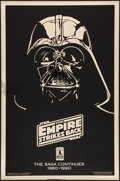 "Movie Posters:Science Fiction, The Empire Strikes Back (Kilian Enterprises, R-1990). Mylar OneSheet (27"" X 41""). Tenth Anniversary Gold Style Advance. Sci..."