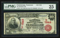 National Bank Notes:Tennessee, Chattanooga, TN - $10 1902 Red Seal Fr. 613 The Hamilton NB Ch. #(S)7848. ...
