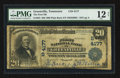 National Bank Notes:Tennessee, Greeneville, TN - $20 1902 Plain Back Fr. 653 The First NB Ch. #(S)4177. ...