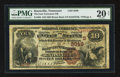 National Bank Notes:Tennessee, Knoxville, TN - $10 1882 Brown Back Fr. 485 The East Tennessee NBCh. # (S)2049. ...