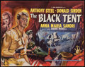 "Movie Posters:War, The Black Tent (Rank, 1956). British Half Sheet (22"" X 28""). War....."