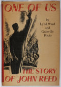 Books:Literature 1900-up, Lynd Ward [illustrator]. Granville Hicks. SIGNED. One of Us: TheStory of John Reed. Equinox, 1935. First edition, f...