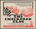 "Movie Posters:Sports, The Checkered Flag (Motion Picture Investors, 1963). Half Sheet (22"" X 28""). Sports.. ..."
