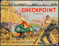 "Movie Posters:Crime, Checkpoint (Rank, 1957). British Half Sheet (22"" X 28""). Crime....."