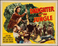 "Movie Posters:Adventure, Daughter of the Jungle (Republic, 1949). Half Sheet (22"" X 28"")Style A. Adventure.. ..."