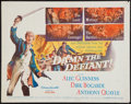 "Movie Posters:Adventure, Damn the Defiant! (Columbia, 1962). Half Sheet (22"" X 28"").Adventure.. ..."