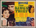 "Movie Posters:Adventure, The King's Thief (MGM, 1955). Half Sheets (2) (22"" X 28"") Styles A& B. Adventure.. ..."