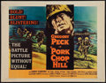 "Movie Posters:War, Pork Chop Hill & Other Lot (United Artists, 1959). Half Sheets(2) (22"" X 28""). War.. ... (Total: 2 Items)"