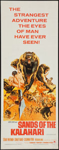 "Movie Posters:Adventure, Sands of the Kalahari (Paramount, 1965). Insert (14"" X 36"").Adventure.. ..."