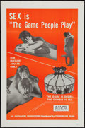 "Movie Posters:Sexploitation, The Game People Play (Chancellor Films, Inc., 1967). One Sheet (27""X 41""). Sexploitation.. ..."