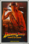 "Movie Posters:Adventure, Indiana Jones and the Temple of Doom (Paramount, 1984). One Sheet(27"" X 41"") Teaser - White Border. Adventure.. ..."