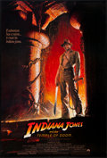 "Movie Posters:Adventure, Indiana Jones and the Temple of Doom (Paramount, 1984). One Sheet(27"" X 40.25"") Style A. Adventure.. ..."