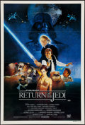 """Movie Posters:Science Fiction, Return of the Jedi (20th Century Fox, 1983). Australian One Sheet(27"""" X 40"""") Style B. Science Fiction.. ..."""