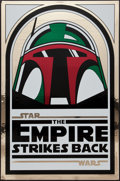 "Movie Posters:Science Fiction, The Empire Strikes Back (Kilian Enterprises, R-1995). 15thAnniversary Foil One Sheet (27"" X 41"") Style A. Science Fiction...."