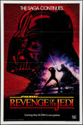 """Movie Posters:Science Fiction, Revenge of the Jedi (20th Century Fox, 1982). One Sheet (27"""" X 41"""")Dated Advance Style. Science Fiction.. ..."""