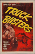 "Movie Posters:Crime, Truck Busters (Warner Brothers, 1943). One Sheet (27"" X 41"").Crime.. ..."
