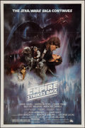 "Movie Posters:Science Fiction, The Empire Strikes Back (20th Century Fox, 1980). One Sheet (27"" X41"") Flat Folded Style A. Science Fiction.. ..."