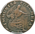 Colonials, 1787 PIECE Immunis Columbia Piece, Eagle Reverse XF40 PCGS. W-5680,High R.4....