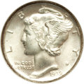 Mercury Dimes: , 1939-D 10C MS67 Full Bands NGC. CAC. NGC Census: (435/31). PCGSPopulation (516/86). Mintage: 24,394,000. Numismedia Wsl. P...