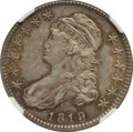Bust Half Dollars: , 1819 50C AU55 NGC. NGC Census: (48/141). PCGS Population (50/103).Mintage: 2,208,000. Numismedia Wsl. Price for problem fr...