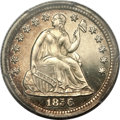 Proof Seated Half Dimes, 1856 H10C PR65 Cameo PCGS. CAC....