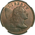 Large Cents, 1795 1C Lettered Edge MS65 Red and Brown NGC. S-75, B-3, R.3....