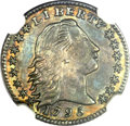 Early Half Dimes, 1795 H10C MS62 NGC. V-5, LM-8, R.3....