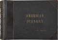 Photography:Official Photos, Huge American Scenery Photo Album by Mayo & Weed, Chicago, circa 1890s....