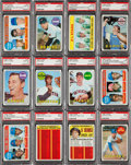 Baseball Cards:Lots, 1969 Topps Baseball PSA Mint 9 & Gem MT 10 Collection (96). ...