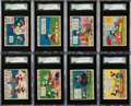 Non-Sport Cards:Sets, 1935 R89 Gum Inc. Mickey Mouse Collection (64). ...