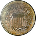 Shield Nickels, 1880 5C MS62 ANACS....