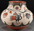 American Indian Art:Pottery, A SANTO DOMINGO POLYCHROME JAR. Robert Tenorio. c. 2000...