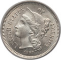 Three Cent Nickels: , 1867 3CN MS65 PCGS. PCGS Population (44/11). NGC Census: (35/12).Mintage: 3,915,000. Numismedia Wsl. Price for problem fre...
